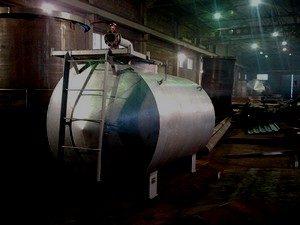 Резервуары и емкости алюминиевые